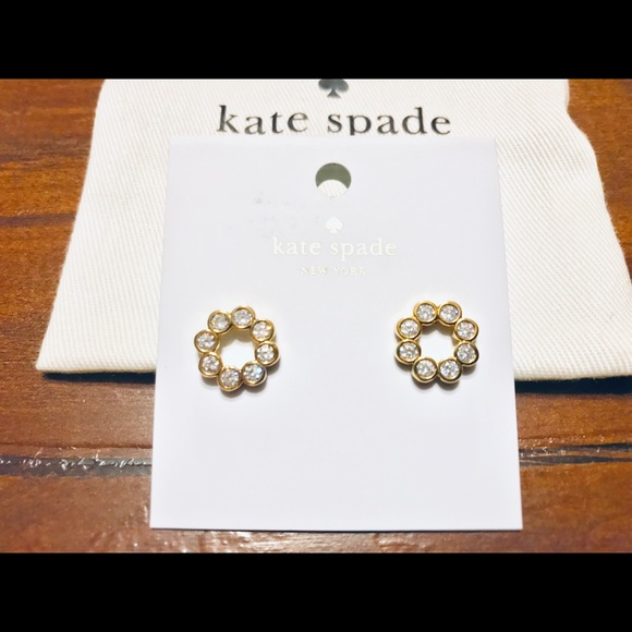 kate spade Jewelry - NWT Kate Spade Full Circle Earrings